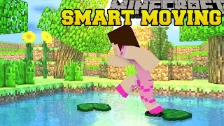 Minecraft: SMARTEST MOVING!! (SLIDING, CLIMBING, LEAPING, & MO