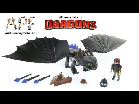 Vidéo PLAYMOBIL Dragons (DreamWorks) 9246 : Harold et Krokmou