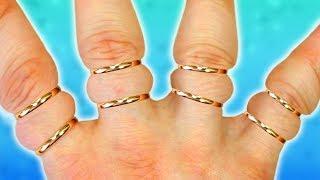 ТОП 10 Способов Снять КОЛЬЦО с ОПУХШЕГО Пальца