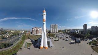 360 degrees. Панорамное видео города Самара