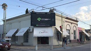 Otra instalación de Grupo Uno LED en Buenos Aires.