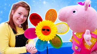 Spielspaß mit Peppa und Irene - Spielzeug Video für Kinder auf Deutsch - 2 Folgen am Stück