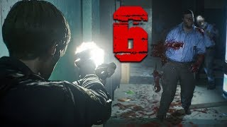 Too Many Zombies, Not Enough Bullets! - Resident Evil 2 Remake Full Walkthrough Part 6 (RE2 Leon)