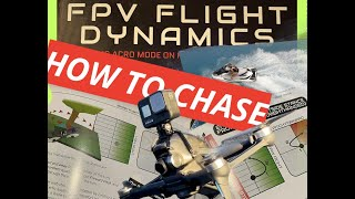 The Key to Chasing w/FPV! (Difference between Default and Outside Stance (1:34 Flight on Liftoff)