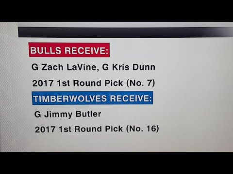 Jimmy Butler Traded To Minnesota!