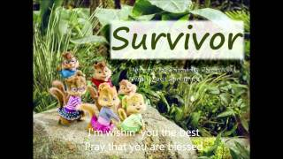 "Alvin and the Chipmunks Chipwrecked: ""Survivor"" (With Lyrics on screen)"