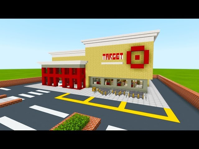 Minecraft Tutorial: How To Make A Target Store
