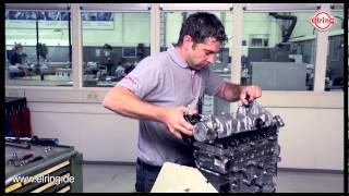 Fiat 1,3 JTD vožtuvų dangtelio tarpinės keitimas