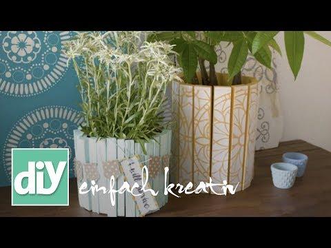 Blumentopfverstecker   DIY einfachkreativ