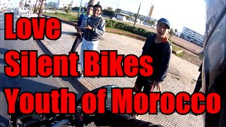 preview picture of video 'Youth of Morocco, Silent Bikes and Love.'