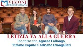 """Visioni Metropolitane Incontri#5 """"Letizia va alla guerra"""" di e con Agnese Fallongo"""