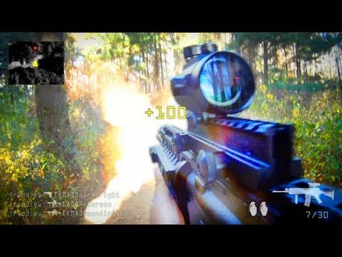 The most realistic first person shooter you'll ever see