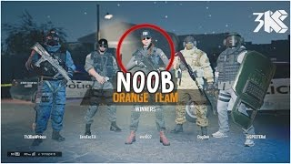 NOOB GOT MVP!!! Rainbow Six Siege