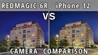 ZTE nubia Red Magic 6R vs Apple iPhone 12 - Camera Comparison!