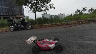 DJI FPV vs nitro car racing