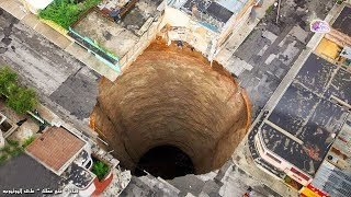 10 ثقوب مخيفة على الأرض أكبرهم في مصر !