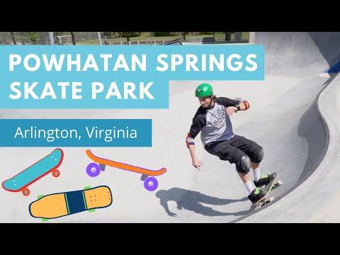 Powhatan Skate Park: Carve, Grind, & Bail at Team Pain's Latest Creation (Arlington - 2019)