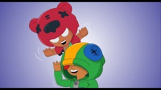 LEON'S DAY OUT (PART 2)  ||   BRAWL STARS  ANIMATION