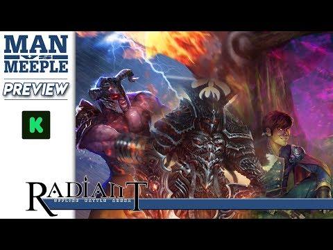 ROBA: Radiant Offline Battle Arena Preview by Man Vs Meeple (Heel Turn Games)