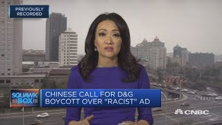 Dolce & Gabbana facing fallout from alleged racism in China | Squawk Box Europe