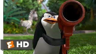 Madagascar (2005) - Penguins To The Rescue Scene (9/10)   Movieclips