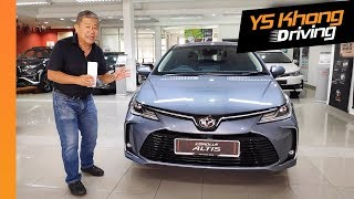 Video All-New 2019 Toyota Corolla Altis [Sneak Preview] Before Launch | YS Khong Driving MP3, 3GP, MP4, WEBM, AVI, FLV September 2019