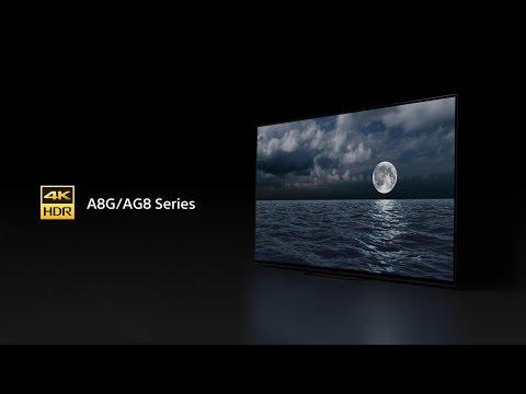 Sony - BRAVIA - A8G/AG8 Series - 4K HDR OLED