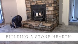 TIMELAPES - Hearth Fireplace Build In 7 Min