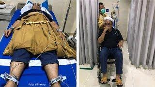 Foto-foto Ali Mochtar Ngabalin sedang Dirawat di Rumah Sakit