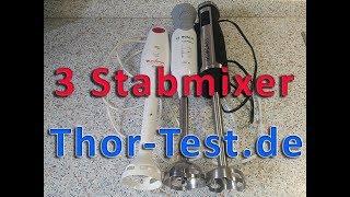 3 Stabmixer im Test: Moulinex, Bosch und HOMEASY - 08/2017
