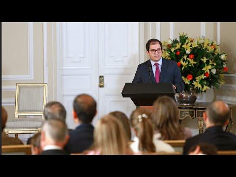 Palabras del Fiscal General de la Nación durante ceremonia de posesión