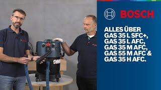 Bosch Professional GAS-Serie: Alles zu den Profi-Nass-/Trockensaugern