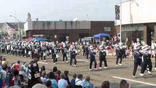 Tennessee State Band at the Canton Hall of Fame Parade 8/2/2014