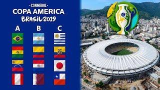 COPA AMÉRICA 2019 PREDICCIÓN Y ANÁLISIS | SORTEO, GRUPOS, FECHAS Y SEDES