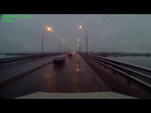 Смертельное ДТП на мосту в Архангельске