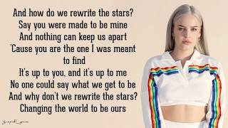 Rewrite The Stars   Anne Marie & James Arthur (Lyrics)
