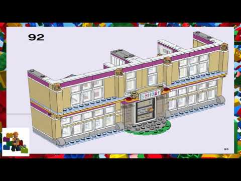Lets Build Lego Friends Heartlake Performance School Set 41134 Part 1