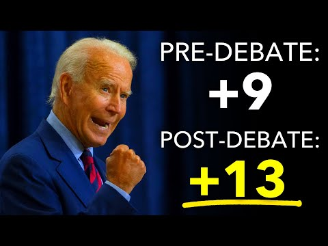 First Post-Debate Poll Shows Biden Expanding National Lead Over Trump