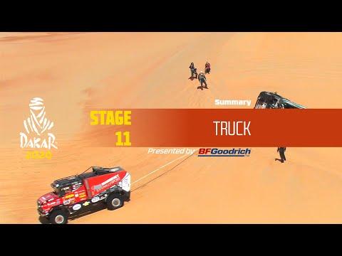 【ダカールラリーハイライト動画】ステージ11 トラック部門のハイライト