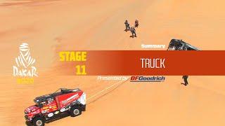 Dakar 2020 - Stage 11 (Shubaytah / Haradh) - Truck Summary
