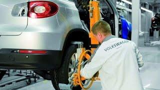 Как собирают автомобили на заводе. Производство автомобилей