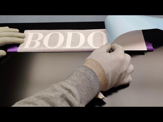 Bodoni v.o.f. Belettering & Reclame | Tekstje plakken