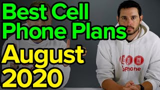 Best Cell Phone Plans [August 2020]