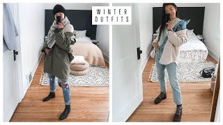 EASY WINTER OUTFIT IDEAS | WARM & COZY | WHAT I WORE
