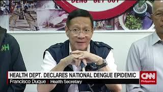 Health Department declares national dengue epidemic