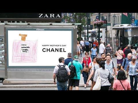 Chanel turns DOOH into Sketch Book