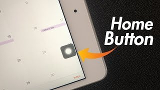 iPad Home Button on Screen - How to Get it