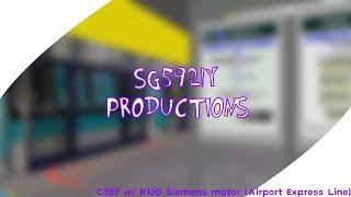 (OpenBVE) (HJNRT/AJRT) C387 W/ R160 Siemens Motor