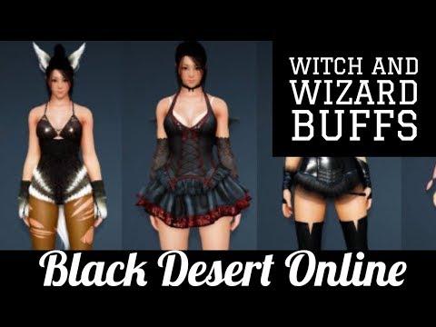 Black Desert Online [BDO] Witch and Wizard Buffs