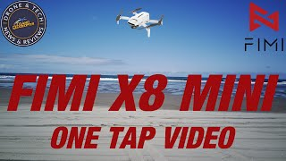 Fimi X8 Mini - One Tap Videos - QuickShots - One Click Videos - demonstration guide and flight test